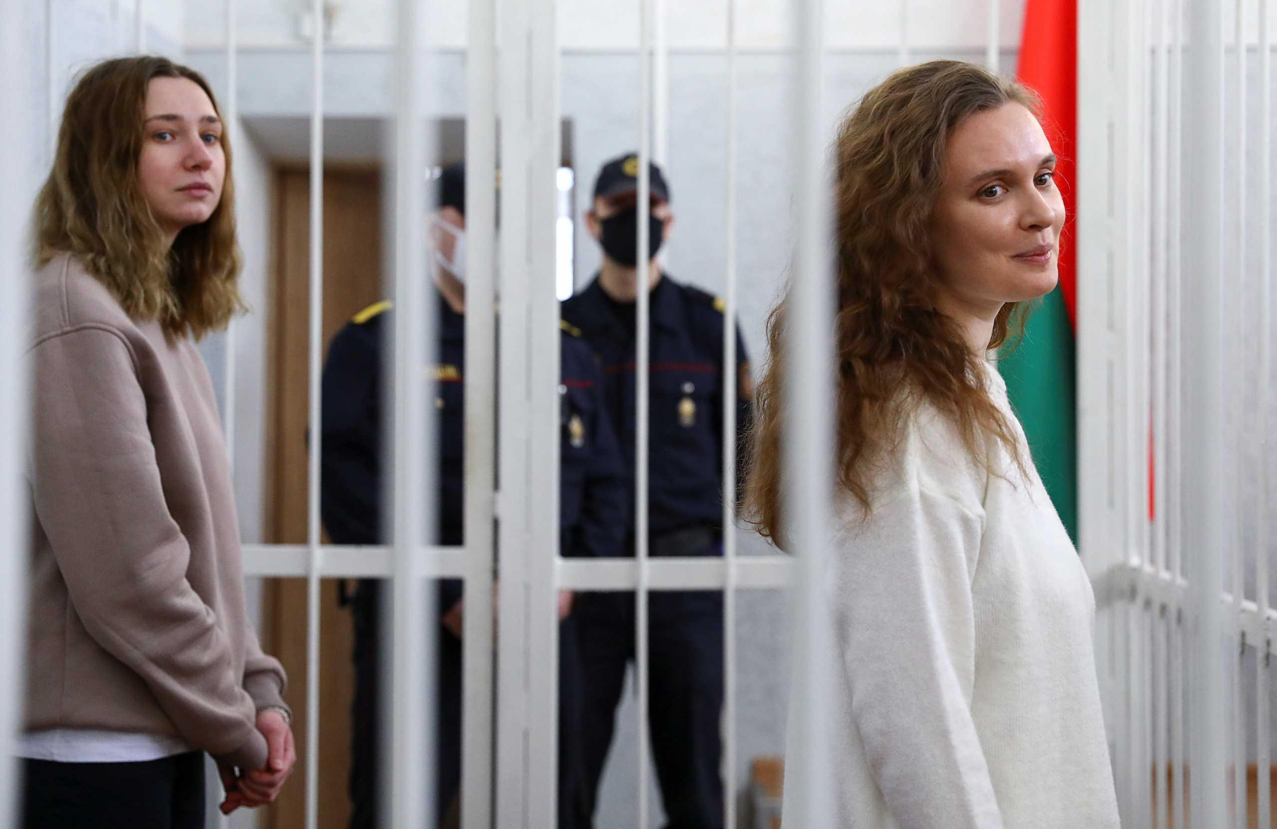Λευκορωσία: Καταδικάστηκαν δύο δημοσιογράφοι επειδή κάλυπταν τις διαδηλώσεις (pics)