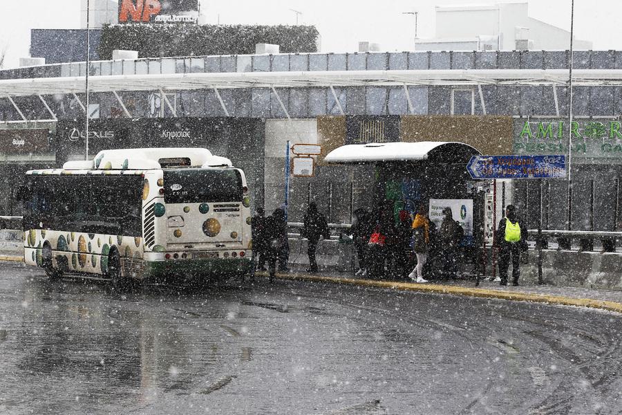 Καιρός – Αττική: Αλλαγές στις λεωφορειακές γραμμές λόγω κακοκαιρίας