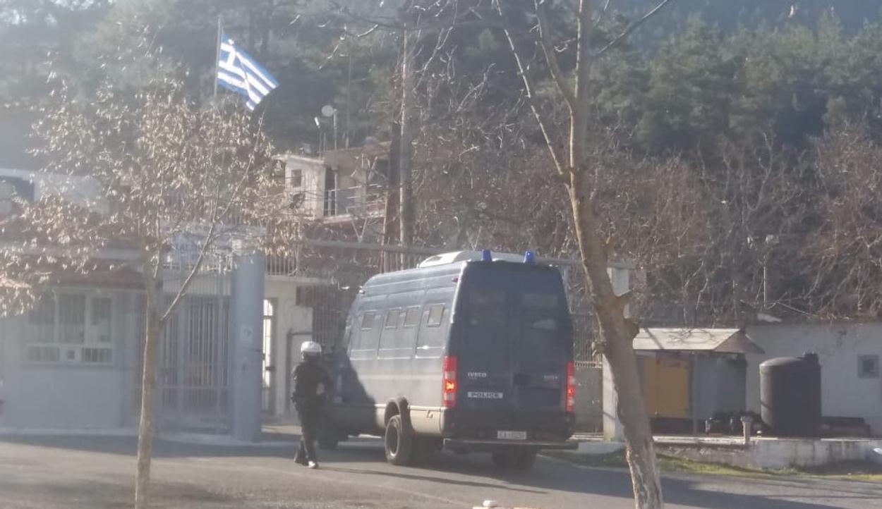 Δημήτρης Λιγνάδης: Έφτασε στις φυλακές της Τρίπολης