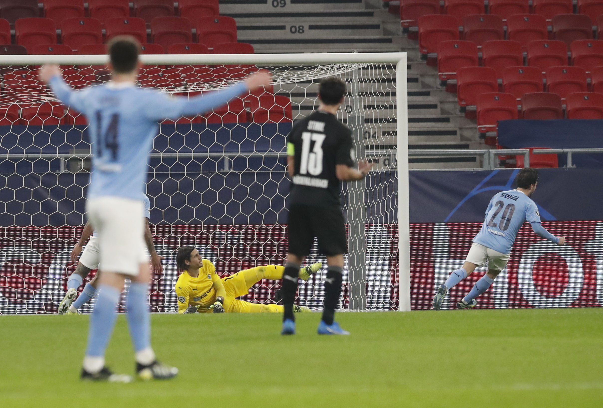 Champions League ΤΕΛΙΚΑ: Αταλάντα – Ρεάλ Μαδρίτης 0-1, Γκλάντμπαχ – Μάντσεστερ Σίτι 0-2