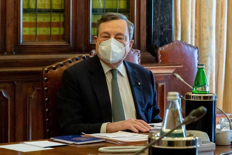 Ιταλία: Συνεχίζονται οι επαφές Ντράγκι για σχηματισμό κυβέρνησης
