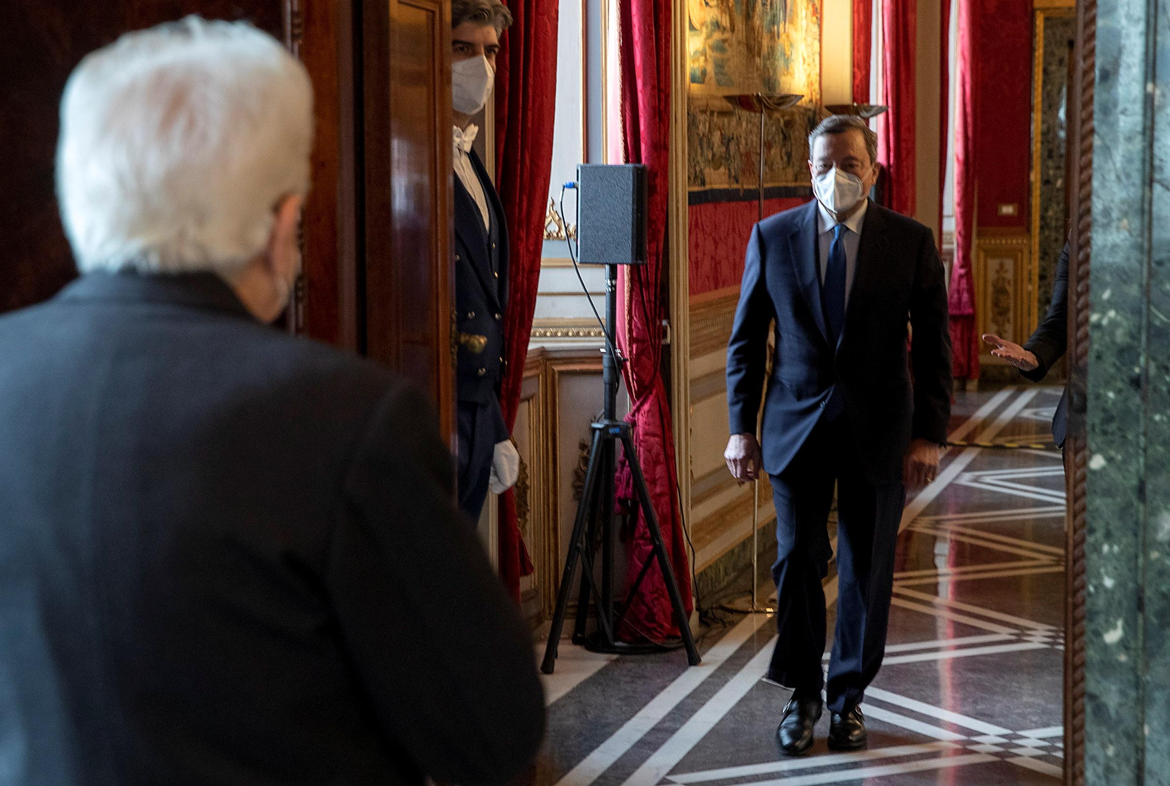 Ο Μάριο Ντράγκι νέος πρωθυπουργός στην Ιταλία