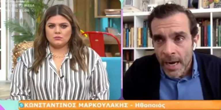 Μαρκουλάκης: Είμαι φίλος με δύο από τους καταγγελλόμενους – «Λύγισε» όταν μίλησε για τα χυδαία μηνύματα που δέχεται (vid)