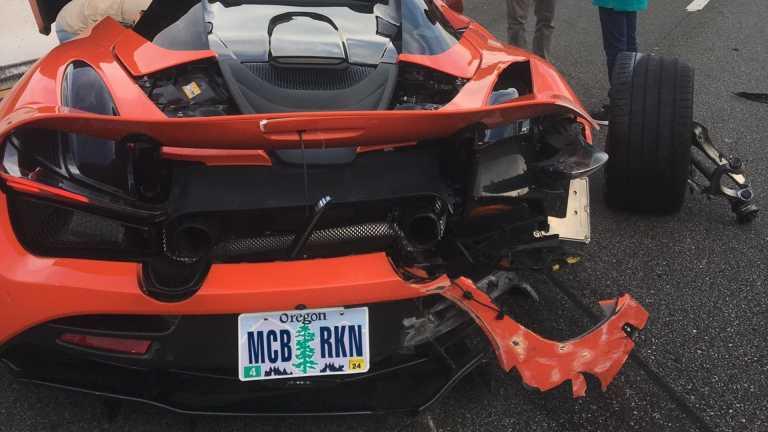 Νοίκιασε μια McLaren 720S και την κατέστρεψε σε κόντρα! [pics]