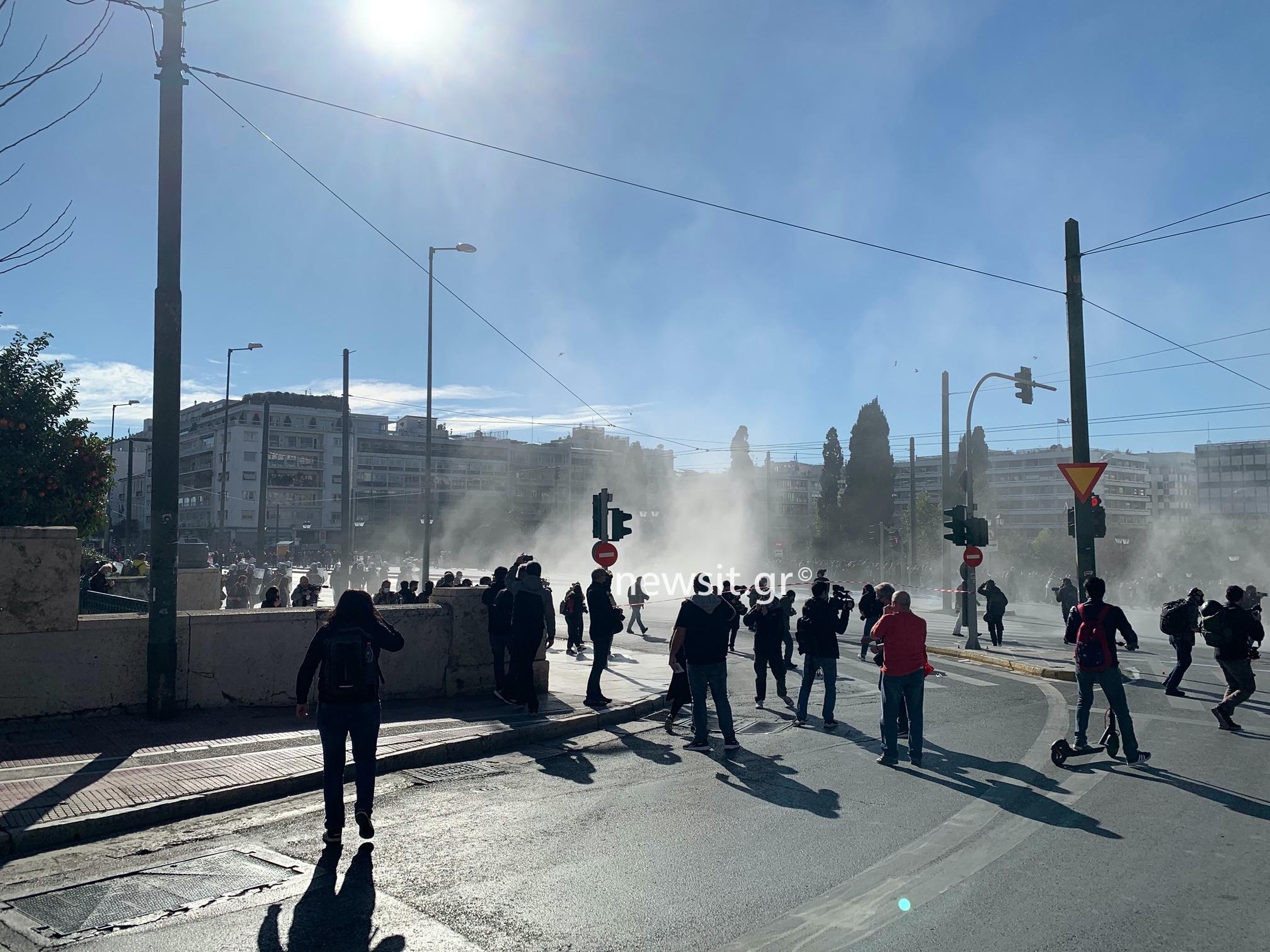 Με μικροένταση έληξε το πανεκπαιδευτικό συλλαλητήριο στην Αθήνα