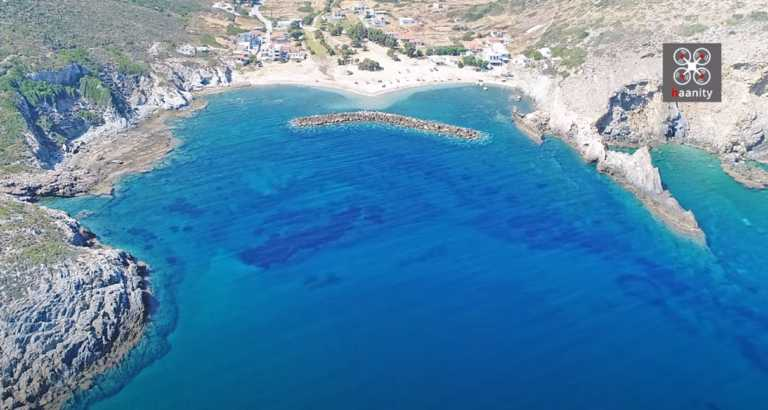 Εύβοια: Το παράδοξο της φύσης σε παραλία – Από άγρια και βραχώδης έγινε γαλήνια και αμμώδης (video)