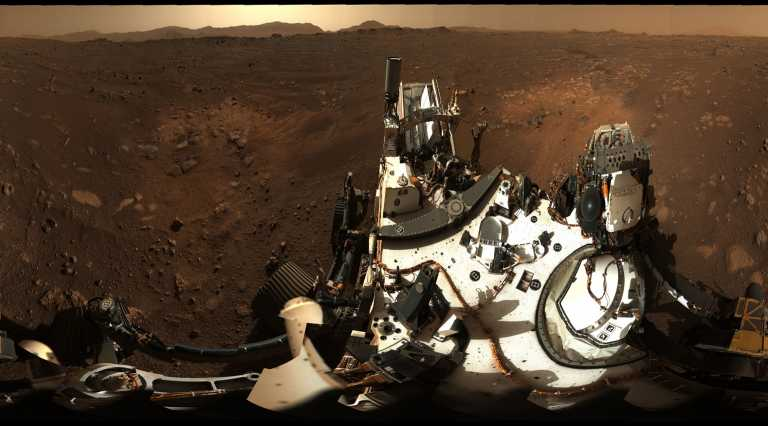 Perseverance: Εντυπωσιακή φωτογραφία του κρατήρα Jezero στον πλανήτη Άρη