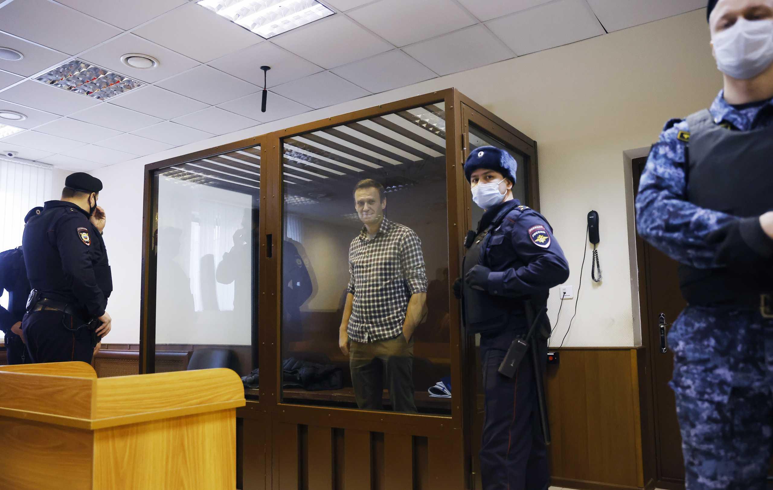 Ρωσία: «Άκυρο» από το δικαστήριο στον Ναβάλνι για μείωση της ποινής του