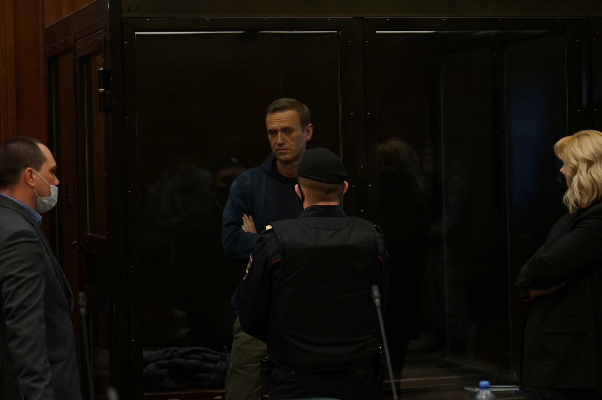 Ρωσία: Στη φυλακή ο  Ναβάλνι μετά την απόφαση του δικαστηρίου