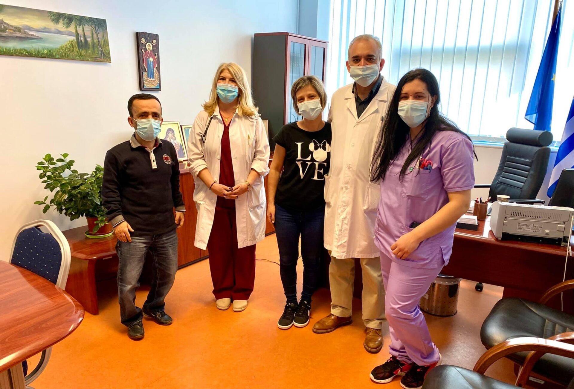 Κέρκυρα: Εξιτήριο για την νοσηλεύτρια που είχε παρουσιάσει πρόβλημα στα πόδια μετά το εμβόλιο