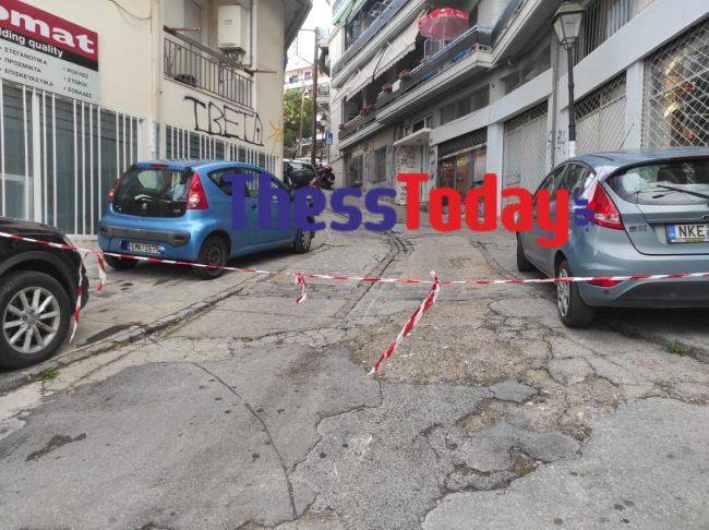 Θεσσαλονίκη: Εκρηκτικά στη γειτονιά που μένει πρώην εισαγγελέας – Αυτοψία στο σημείο που αποκλείστηκε (video)