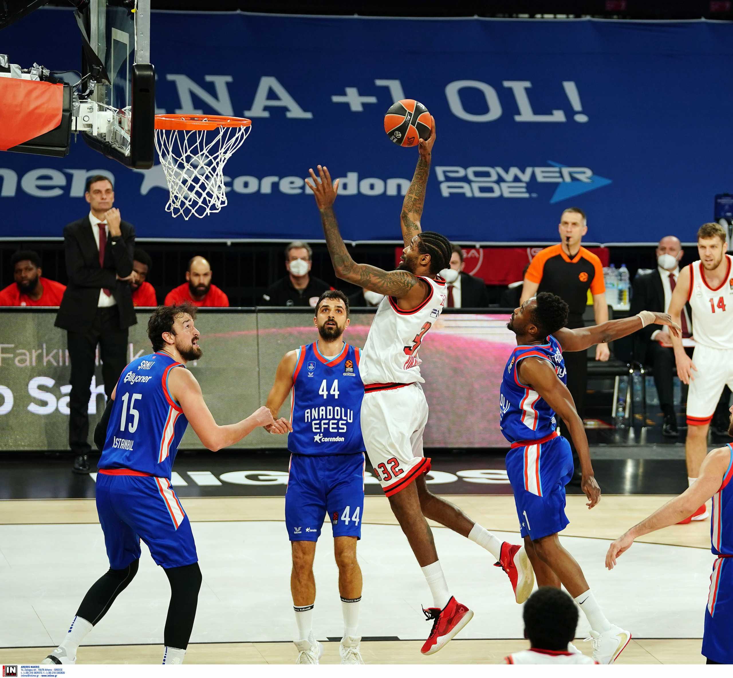 Εφές - Ολυμπιακός 76-53 ΤΕΛΙΚΟ