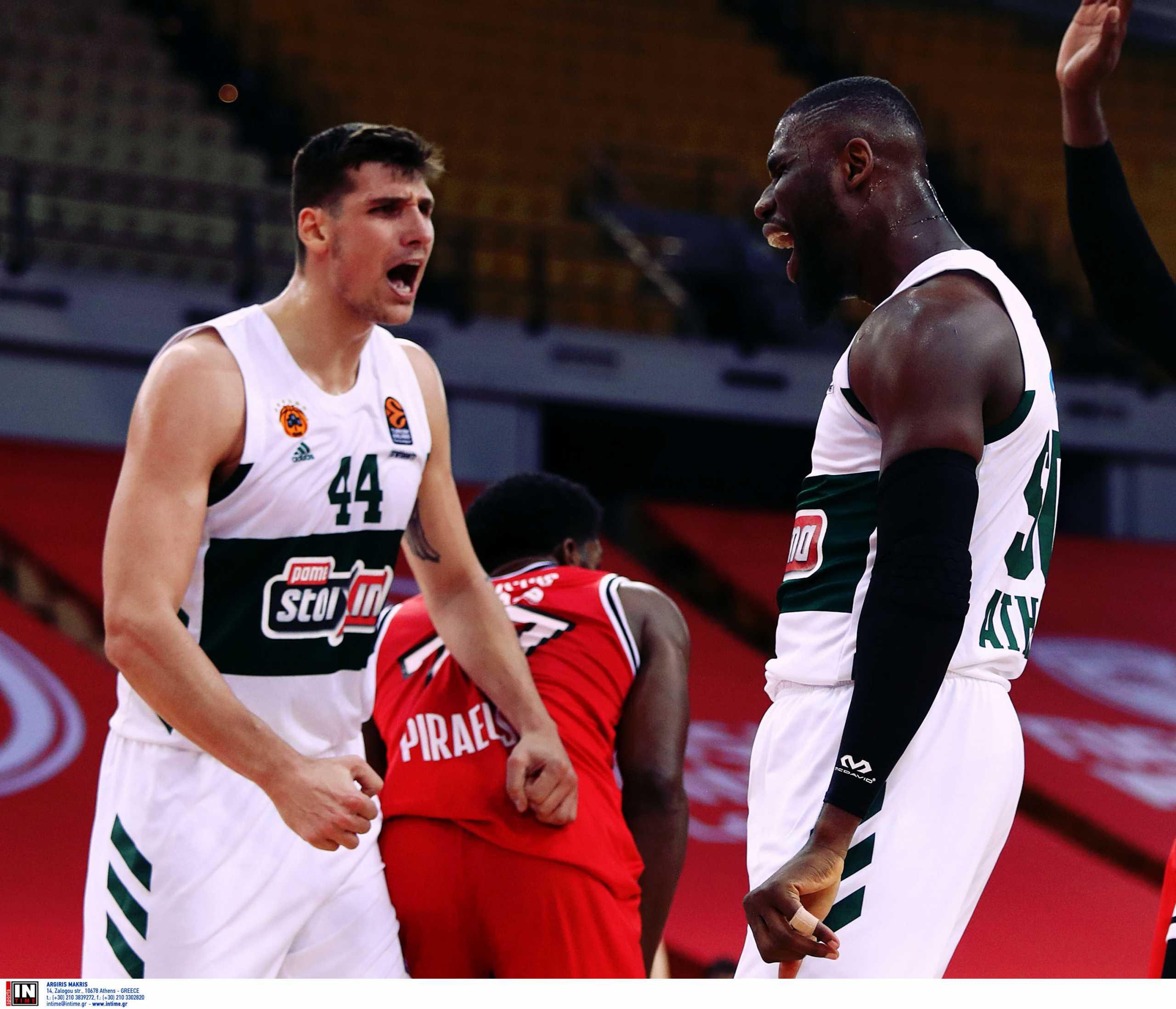 Ολυμπιακός – Παναθηναϊκός: Τα highlights του αγώνα (video)