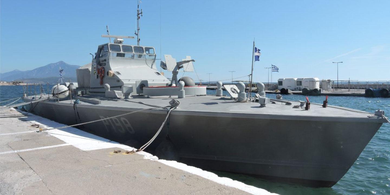 Προσάραξε σε αβαθή στη Σάμο περιπολικό του Πολεμικού Ναυτικού