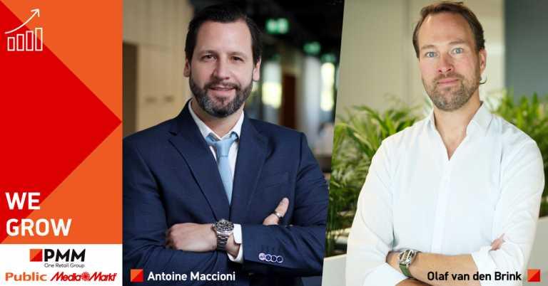 Public-MediaMarkt: Δύο κορυφαία στελέχη ενισχύουν τη διοικητική ομάδα του ομίλου