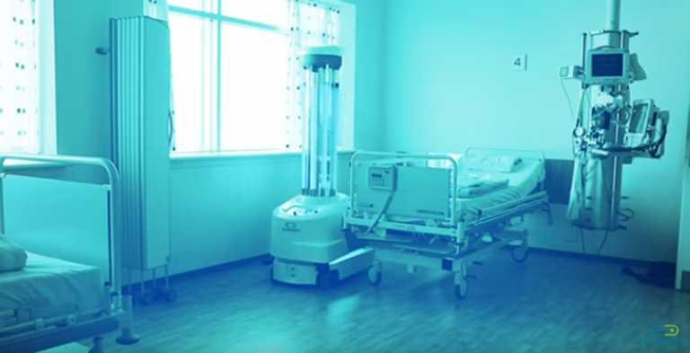 Κορονοϊός: Τα πρώτα ρομπότ απολύμανσης φτάνουν στα ευρωπαϊκά νοσοκομεία