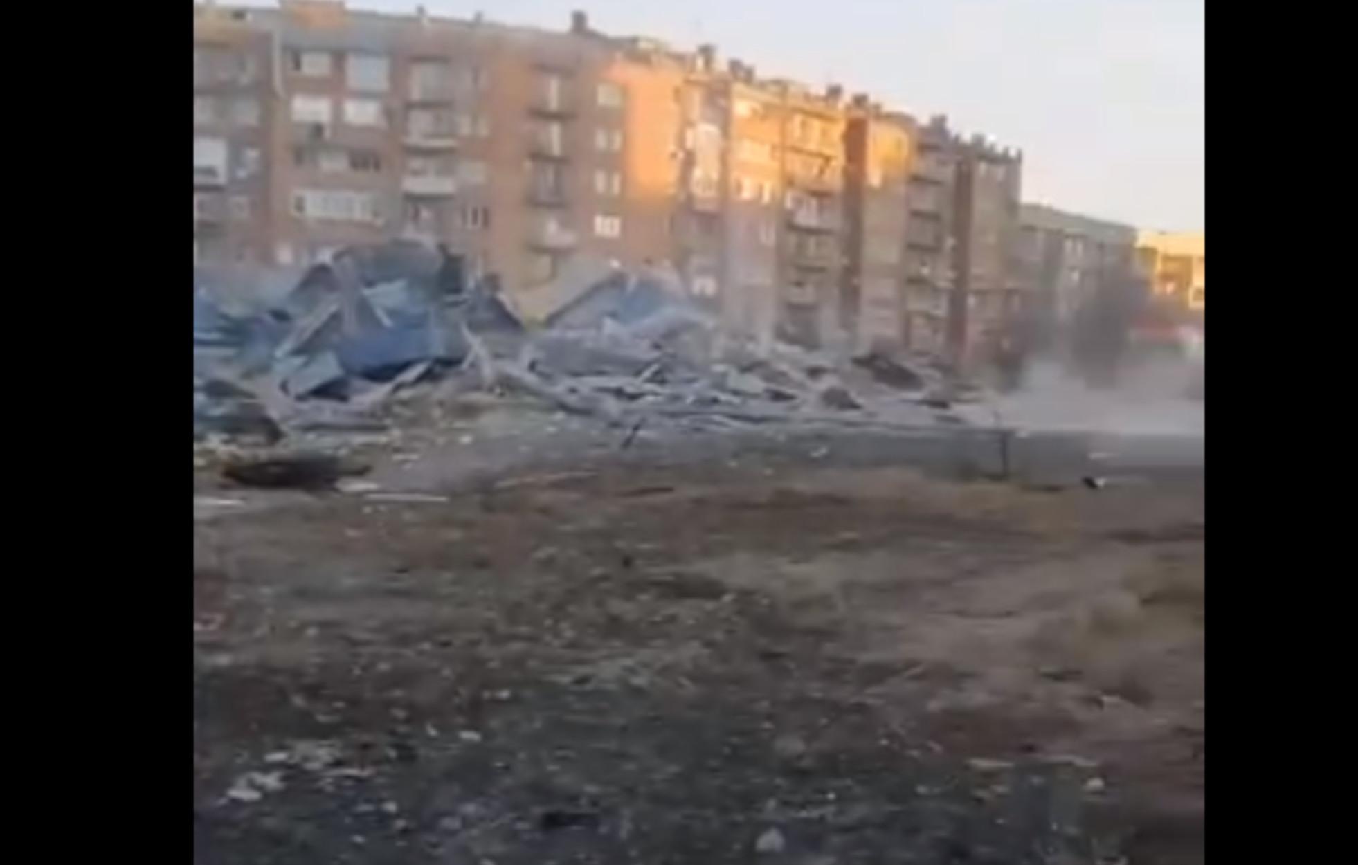 Ρωσία: Πανίσχυρη έκρηξη ισοπέδωσε σούπερ μάρκετ – «Υπάρχουν θύματα» (video)