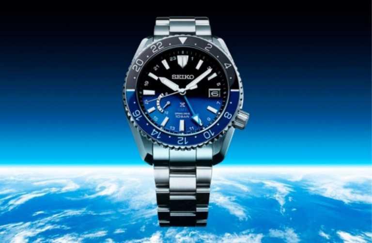 Ένα πανέμορφο ρολόι από την Seiko που διαθέτει ένα διαστημικό καντράν!