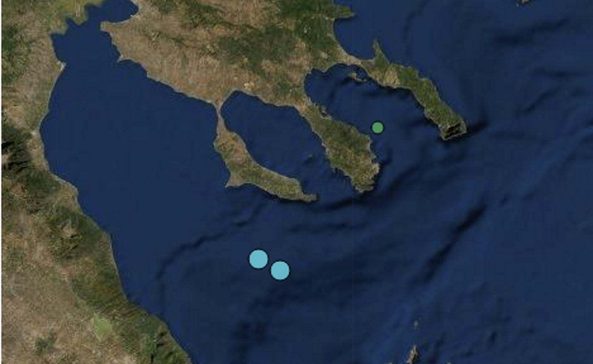 Διπλός σεισμός κοντά στην Κασσάνδρα Χαλκιδικής