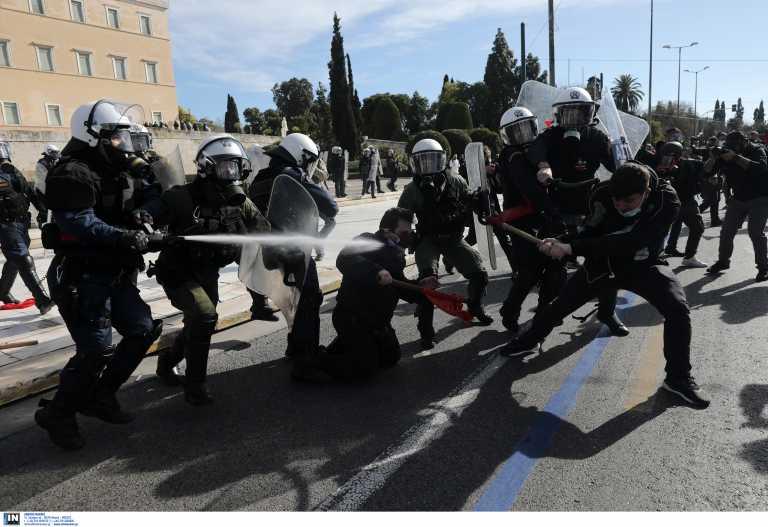 Συνελήφθησαν οι 24 από τους 52 που προσήχθησαν στο πανεκπαιδευτικό συλλαλητήριο