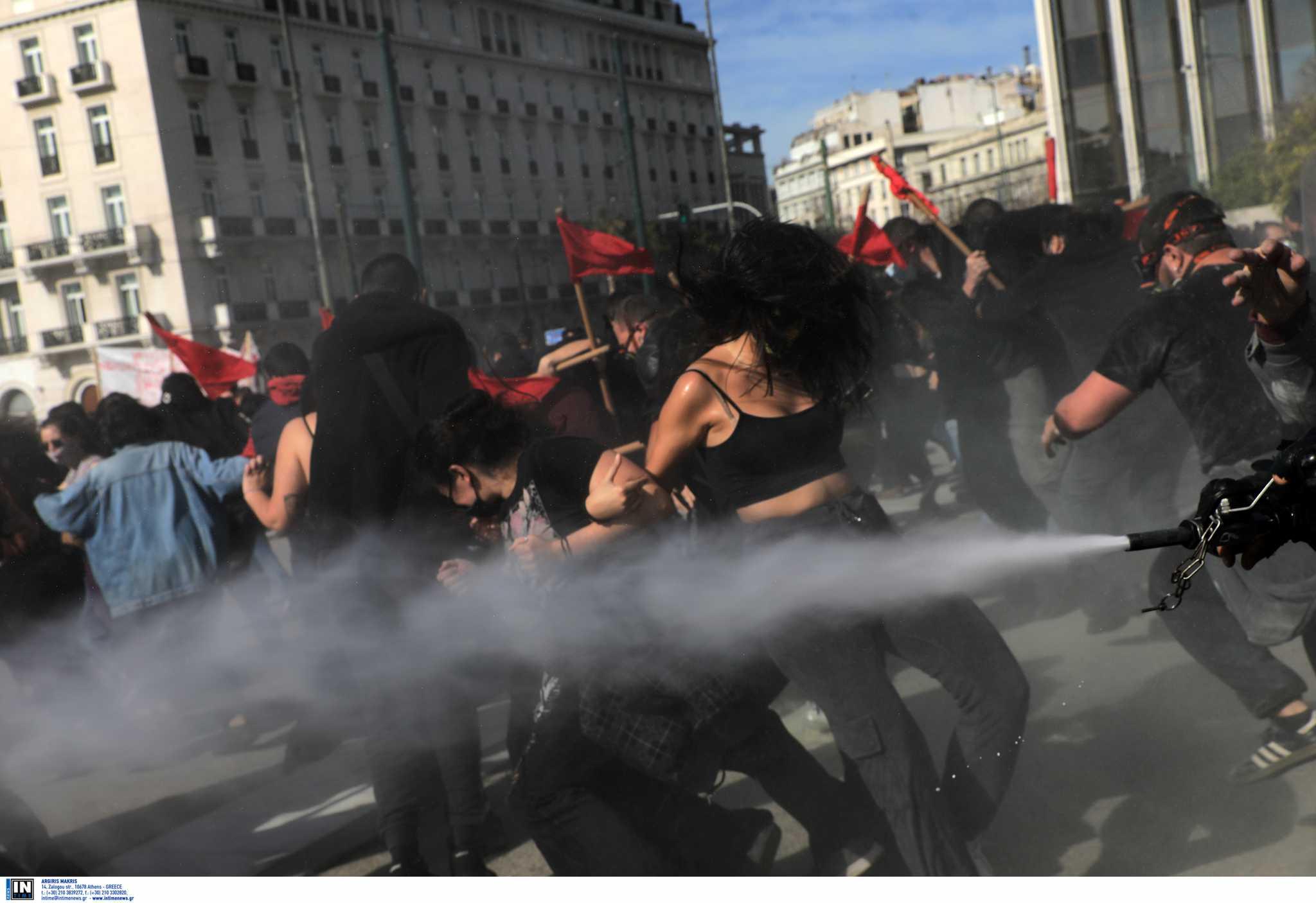 Πανεκπαιδευτικό συλλαλητήριο: Ποινική δίωξη στους συλληφθέντες στα επεισόδια της Τετάρτης