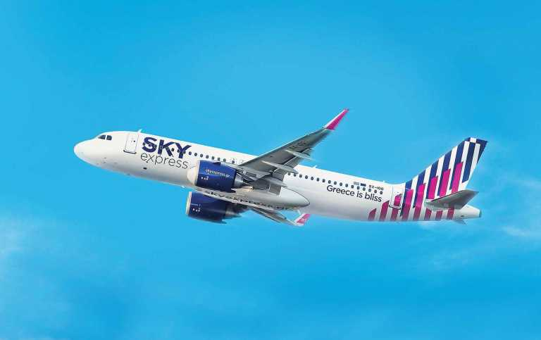 SKY express: Ξεκινάει διεθνείς πτήσεις, με πρώτο σταθμό το αεροδρόμιο της Λάρνακας