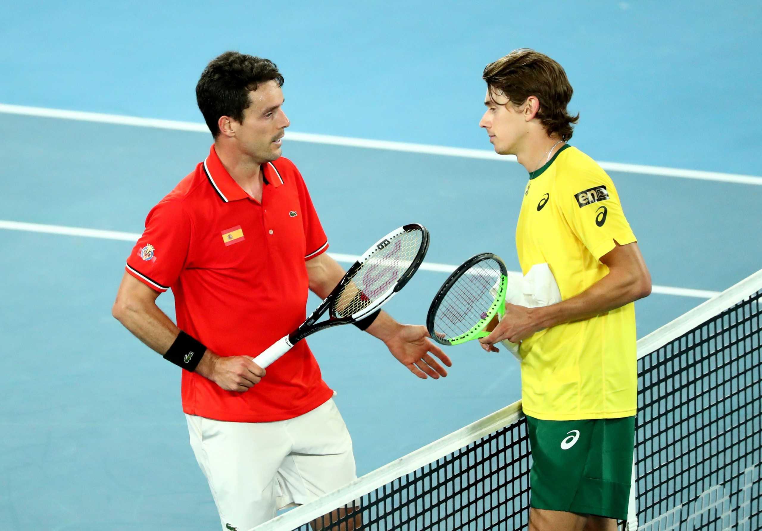ATP Cup: Η Ισπανία «σκότωσε» την Αυστραλία και περιμένει την Ελλάδα