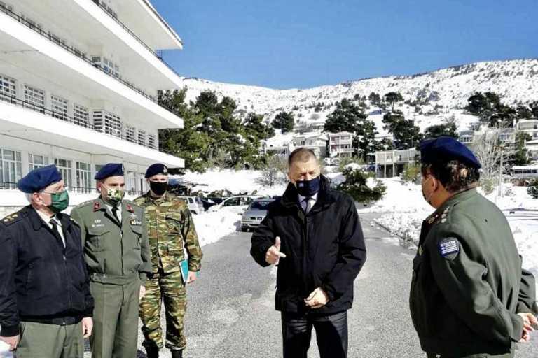 ΥΦΕΘΑ: Αυτοψία Αλκιβιάδη Στεφανή στο 414 Στρατιωτικό Νοσοκομείο Ειδικών Νοσημάτων