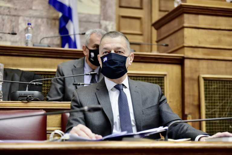 Τι είπε ο Αλκιβιάδης Στεφανής στη Βουλή για τα εξοπλιστικά του Ναυτικού και της Αεροπορίας