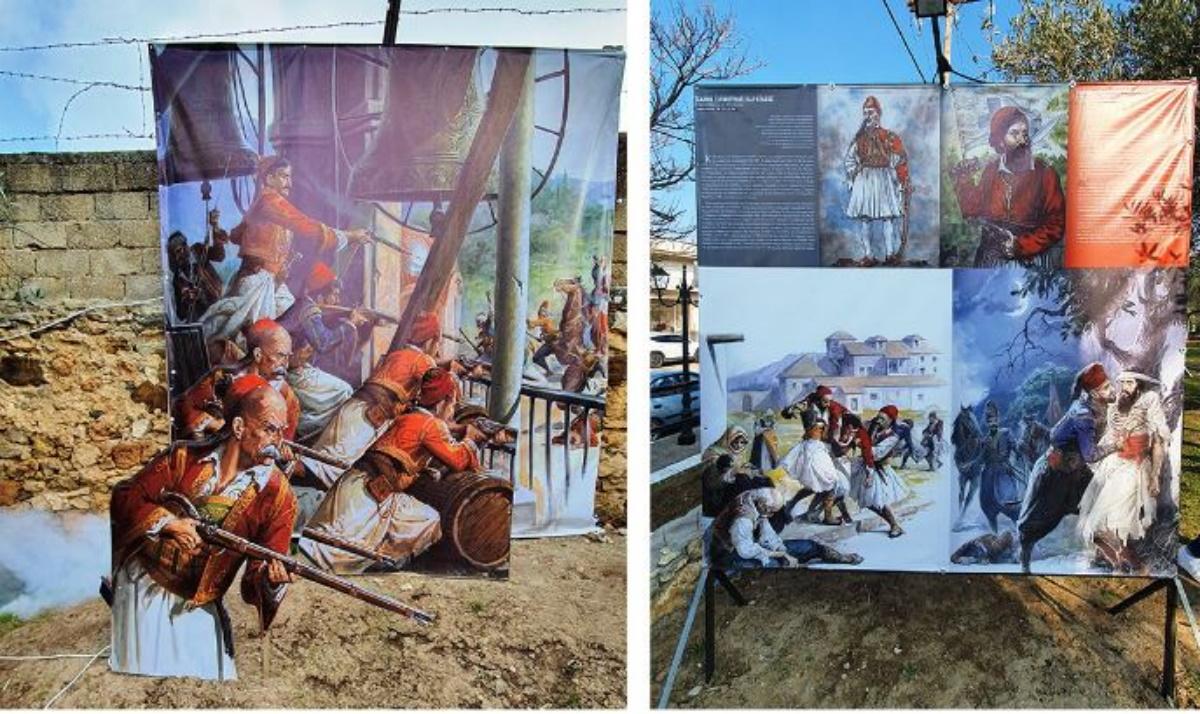 Σιδηρόκαστρο: Εγκαινιάστηκε θεματικό πάρκο αφιερωμένοστους ήρωες του 1821(pics)