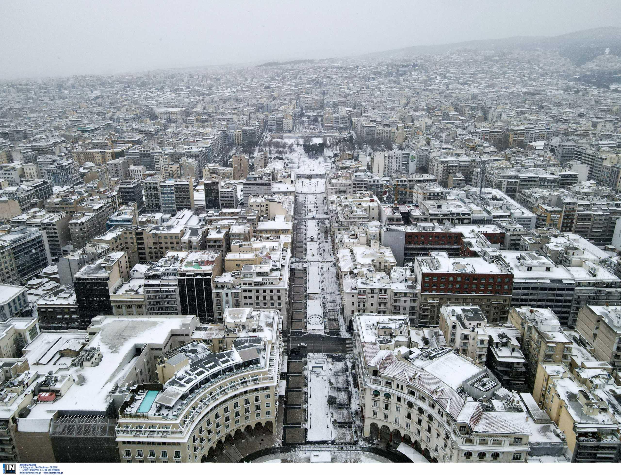Καιρός – Θεσσαλονίκη: Κλειστά σχολεία και παιδικοί σταθμοί την Τετάρτη