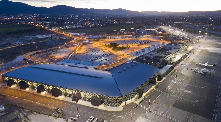 Θεσσαλονίκη: Αυτό είναι το ολοκαίνουργιο αεροδρόμιο Μακεδονία – Δείτε πως έγινε μετά από έργα 110 εκατομμυρίων (pics)