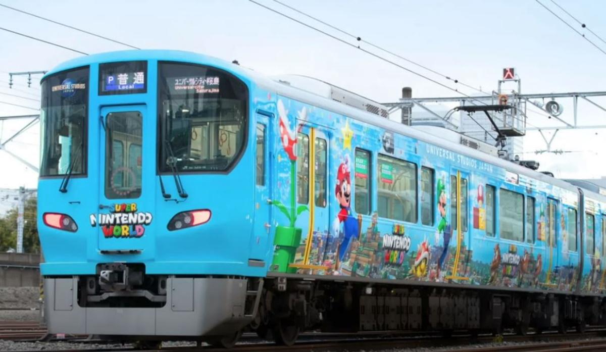 Ιαπωνία: Το θεματικό πάρκο Super Nintendo World απέκτησε το δικό του τρένο (vid)