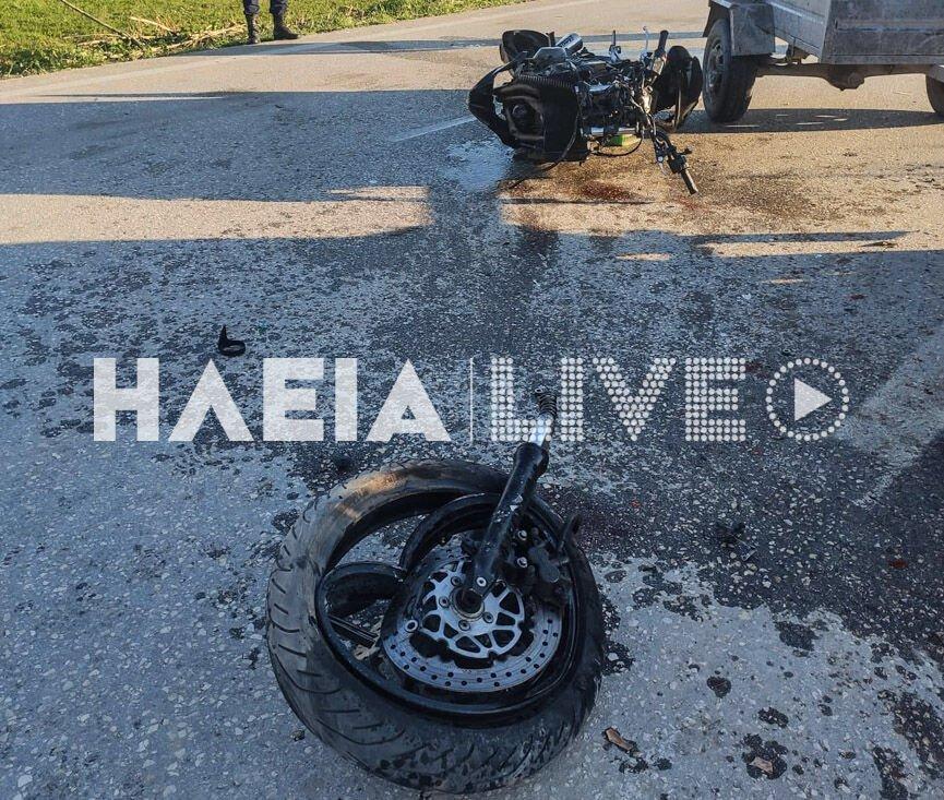 Ηλεία: Σπαραγμός για τον 24χρονο Φίλιππο που σκοτώθηκε σε τροχαίο – Δύο οι τραυματίες