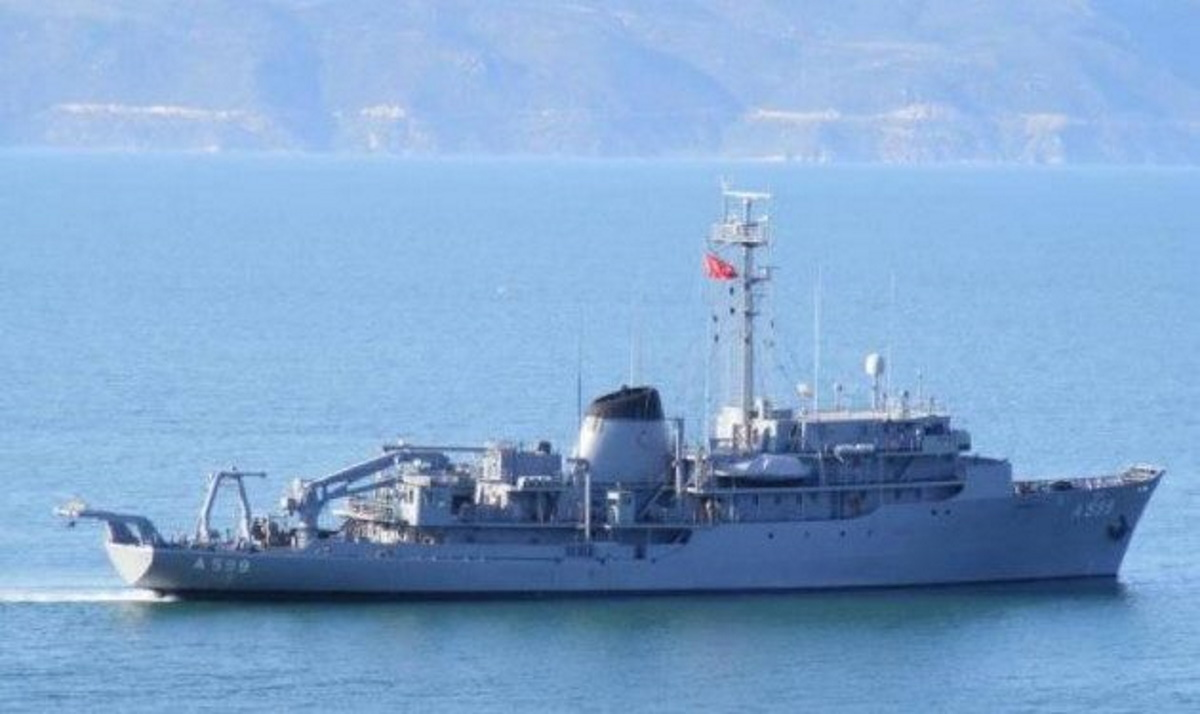 Εντός περιοχής ερευνών στο Αιγαίο βρίσκεται το τουρκικό ωκεανογραφικό πλοίο «Τσεσμέ»