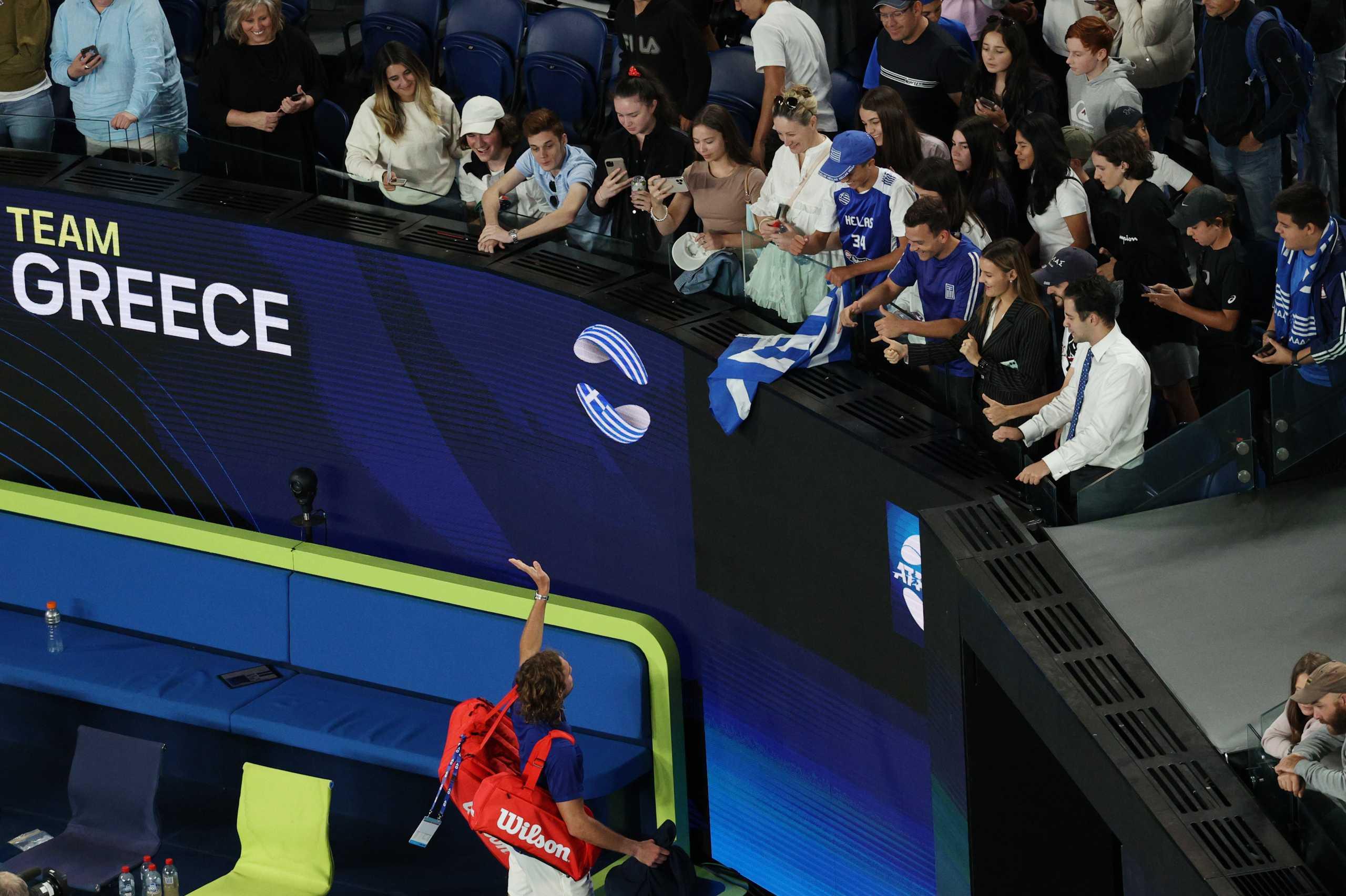 ATP Cup: Ελληνικό πανηγύρι με χορούς στις κερκίδες από τους ομογενείς στην Αυστραλία (videos)