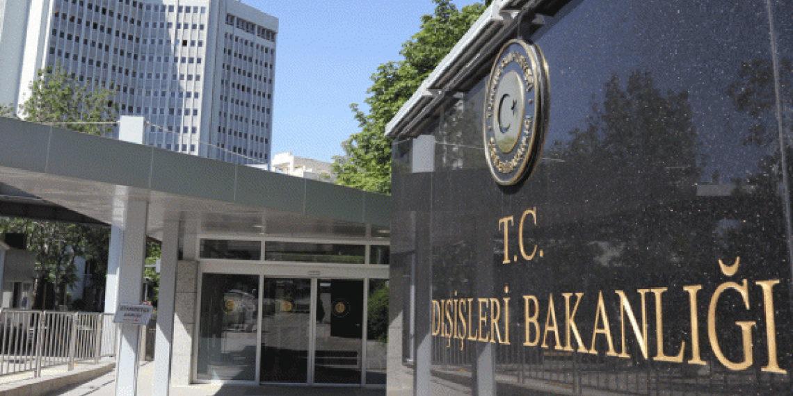 Τουρκία: Το υπουργείο Εξωτερικών δημοσίευσε «ματωμένο» χάρτη για την Άλωση της Τριπολιτσάς