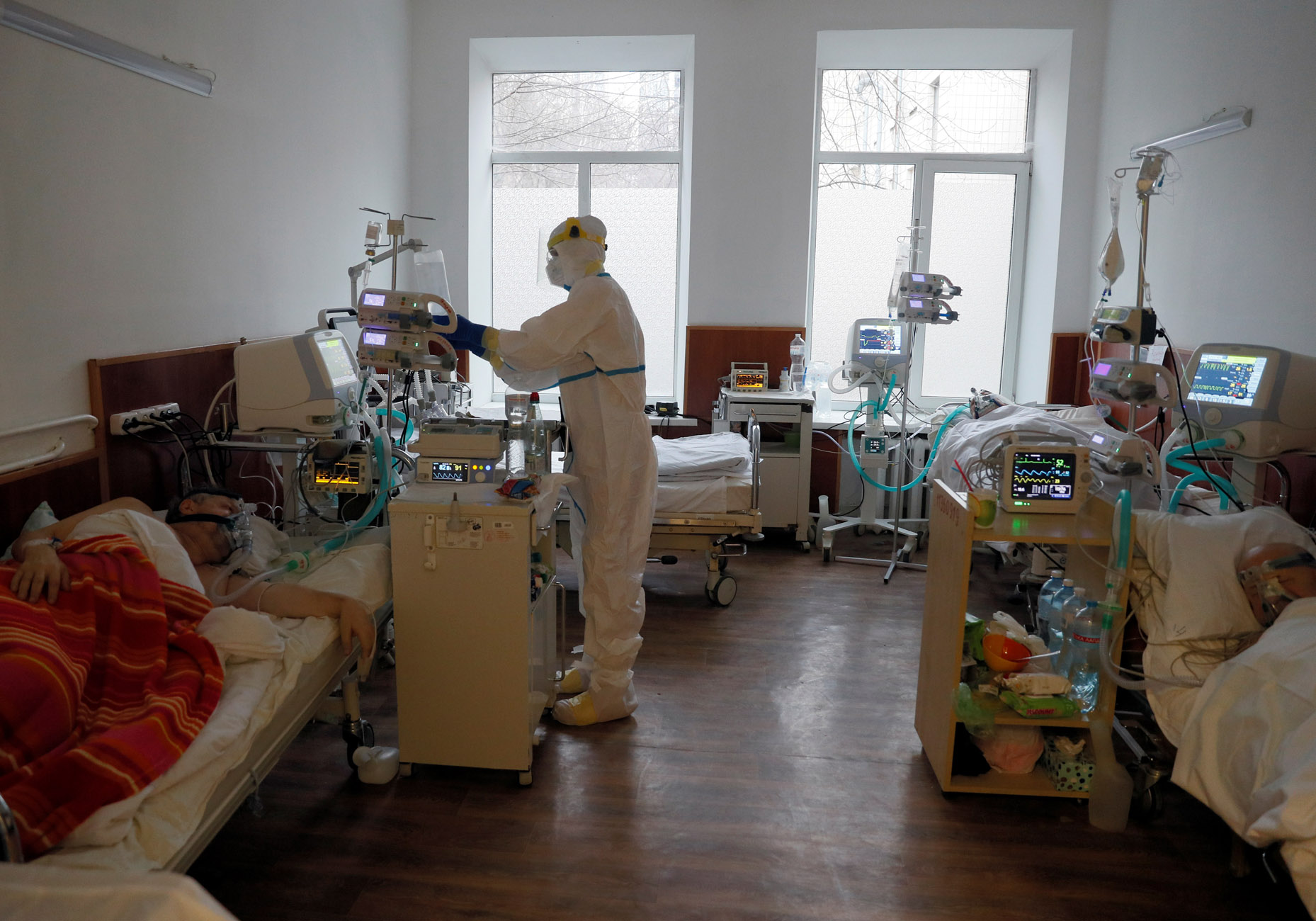 Ουκρανία: Ζητάει εμβόλια από το πλεόνασμα των άλλων χωρών