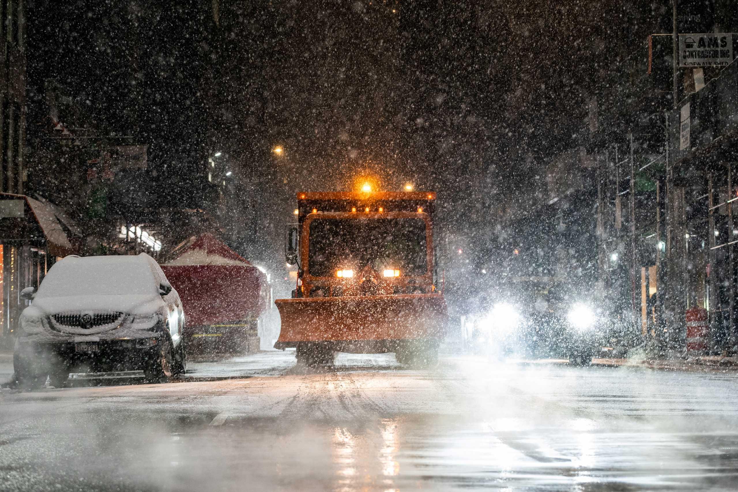 Συναγερμός στις ανατολικές ΗΠΑ: Περιμένουν ισχυρή χιονοθύελλα τις επόμενες ώρες