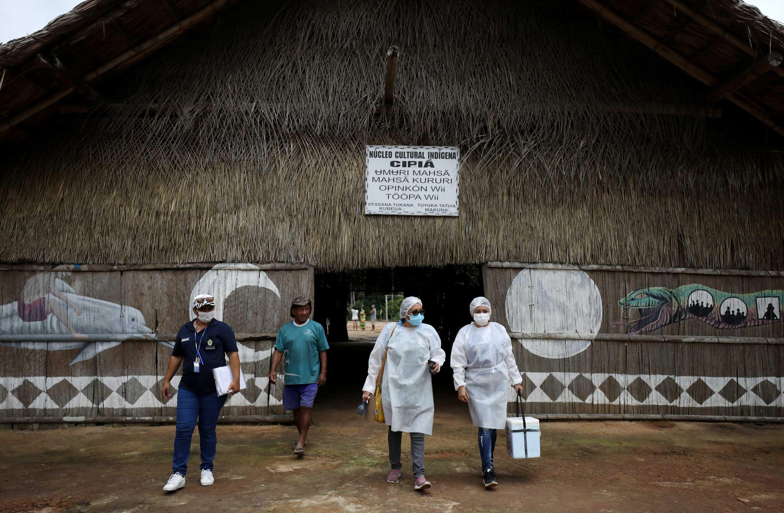 Βραζιλία: Πέμπτη συνεχόμενη μέρα με πάνω από 1.300 νεκρούς από κορονοϊό