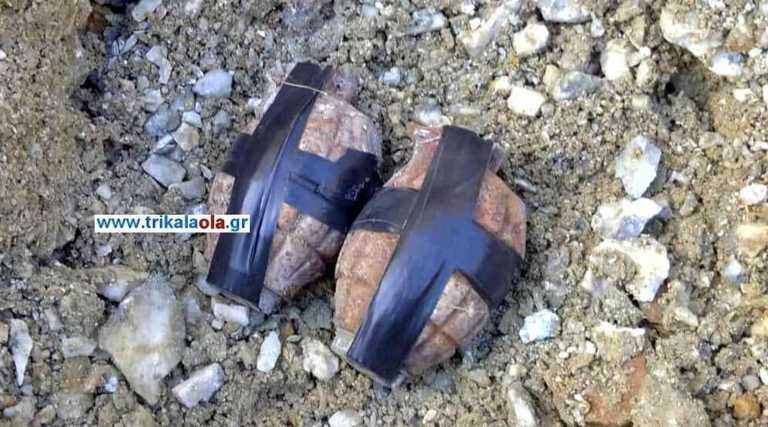 Τρίκαλα: Χειροβομβίδες εξουδετερώθηκαν με ελεγχόμενη έκρηξη (pic, video)