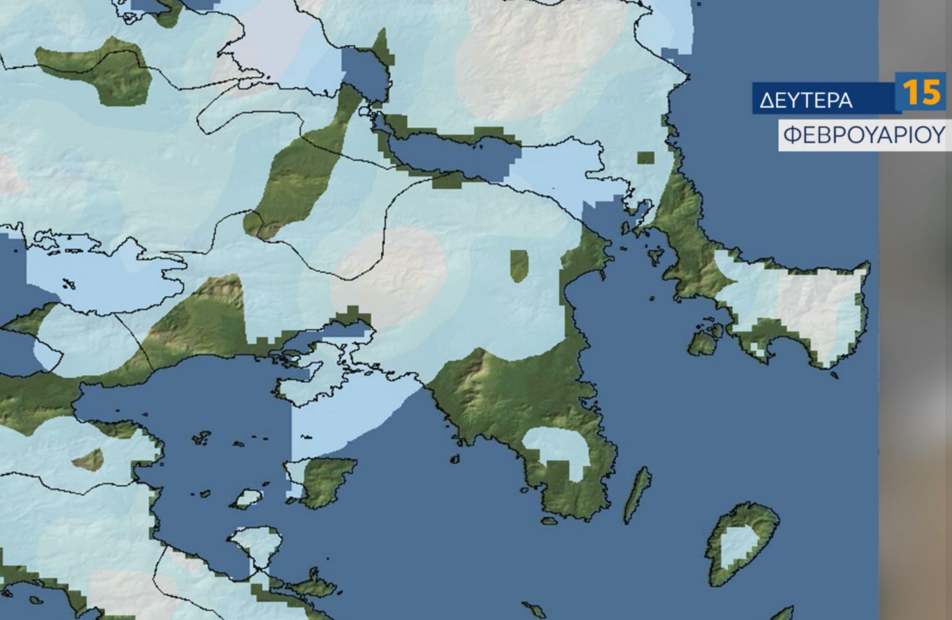 Καιρός – Μαρουσάκης: Πότε θα χιονίσει σε Αθήνα και Αττική – Τι δείχνουν οι χάρτες