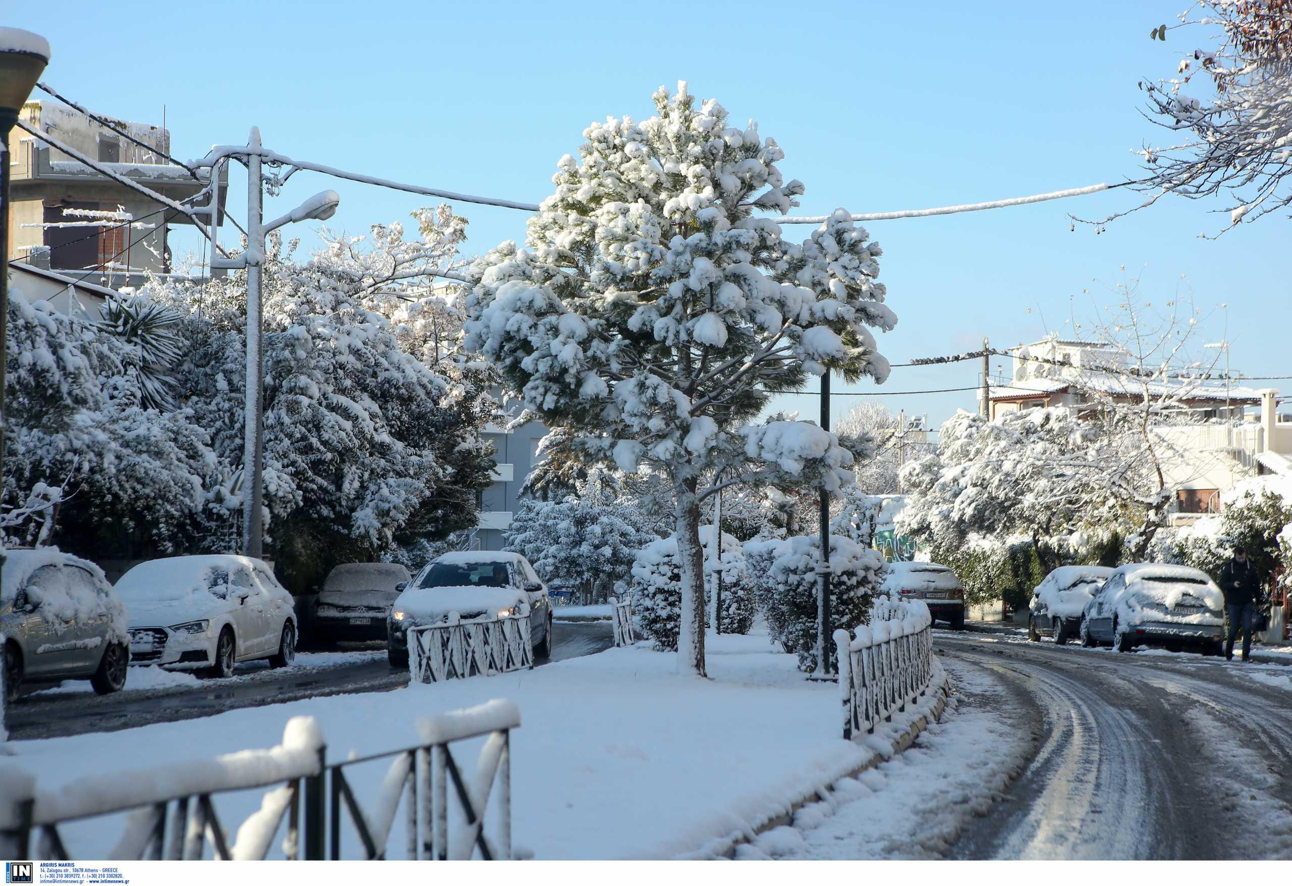 Καιρός – Κακοκαιρία Μήδεια: Τι συνέβη με τα χιόνια στην Αθήνα τα τελευταία 110 χρόνια
