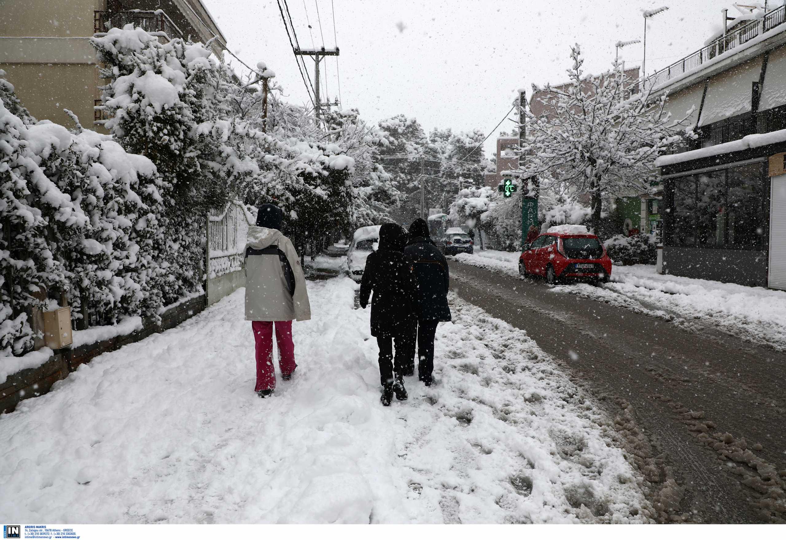 Κλειστοί δρόμοι: Άνοιξε η Εθνικής Αντιστάσεως στην Καισαριανή