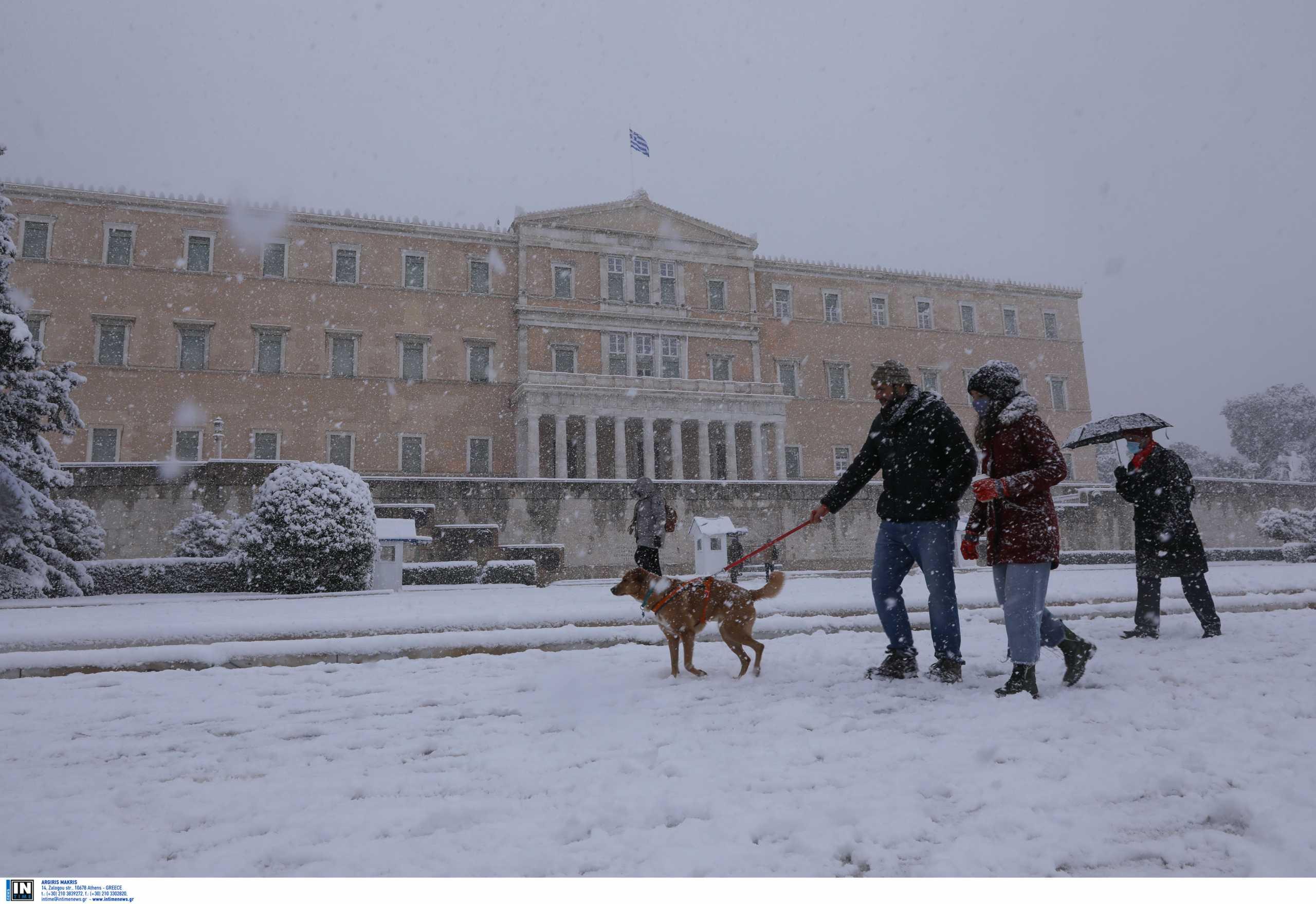 Καιρός – Μήδεια: Μέχρι πότε θα πέφτει χιόνι (pic)