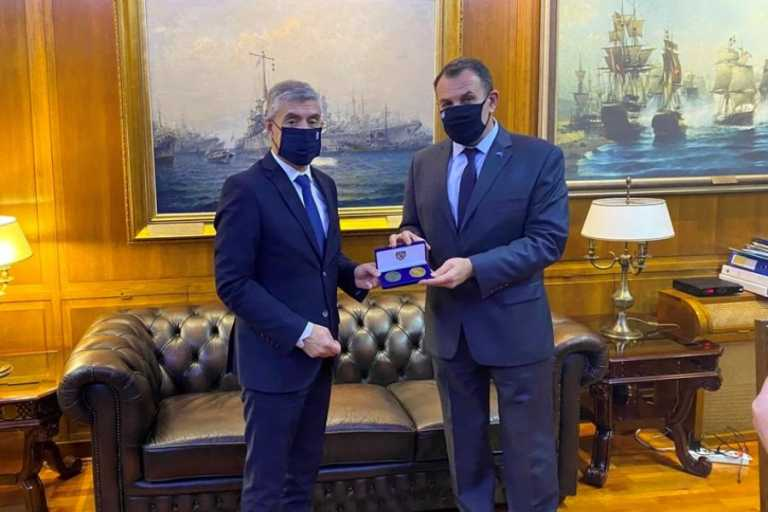 ΥΕΘΑ: Συνάντηση Παναγιωτόπουλου με τον Περιφερειάρχη Θεσσαλίας για την πολιτική προστασία
