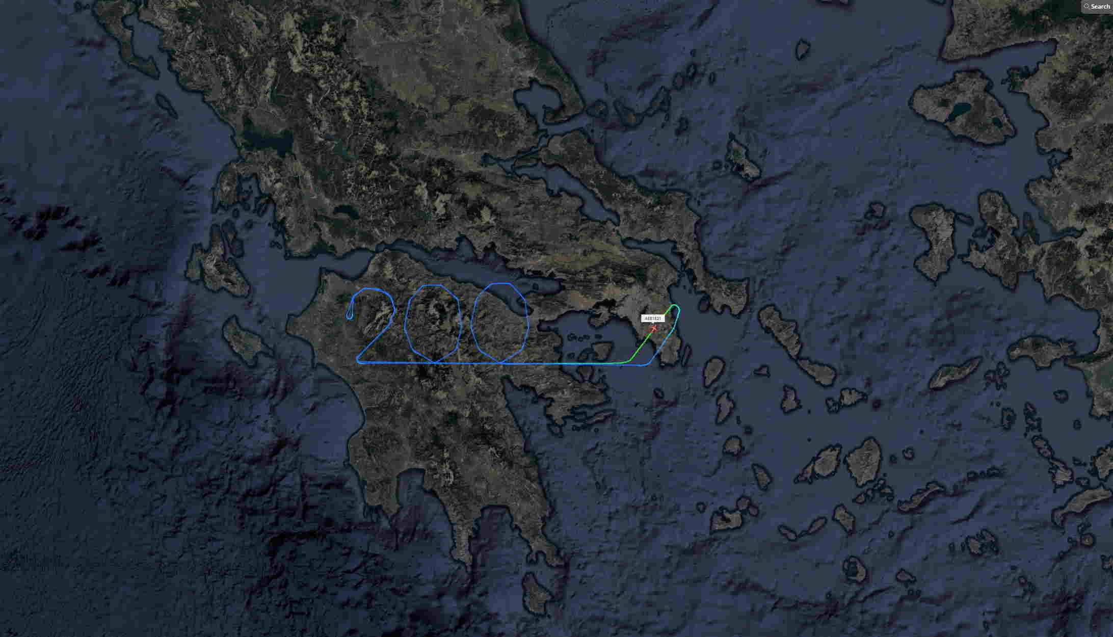 Με μία μοναδική συμβολική κίνηση η AEGEAN τίμησε την επέτειο των 200 χρόνων από την Ελληνική Επανάσταση