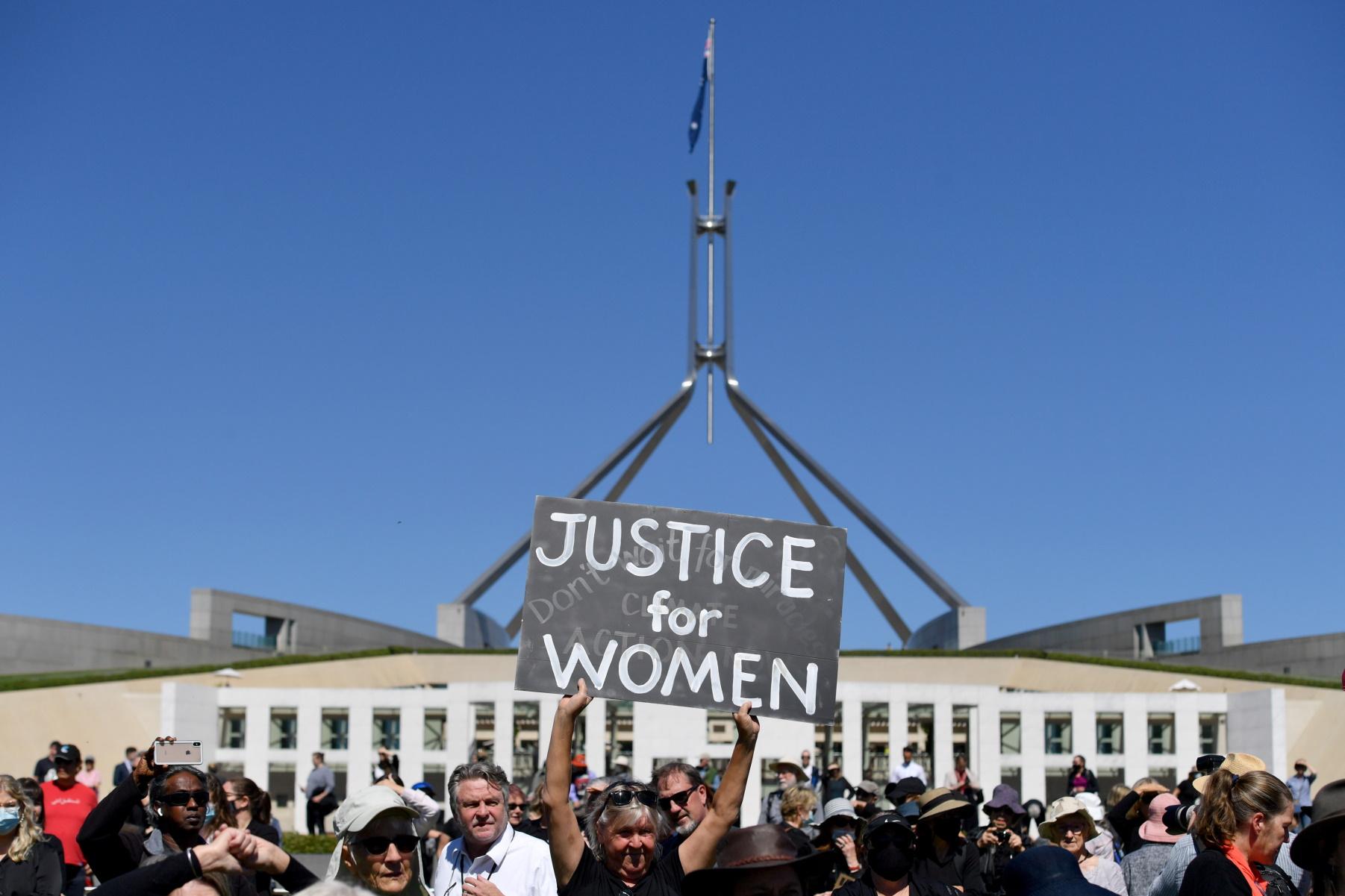 AUSTRALIA POLITICS RAPE 2 REUTERS 23 03 2021