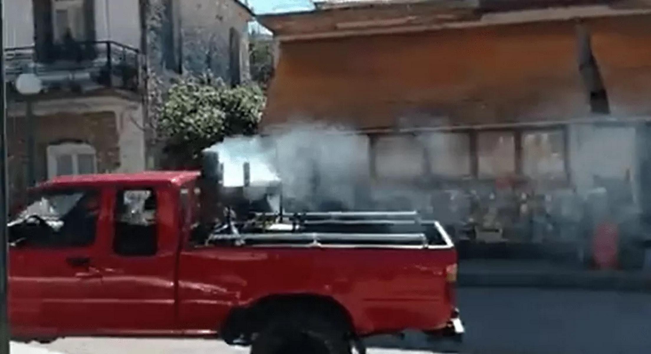Τσικνοπέμπτη: «Αθάνατο» Αγρίνιο έκανε το «θαύμα» του ξανά – Απίστευτες εικόνες στην Παραβόλα (video)