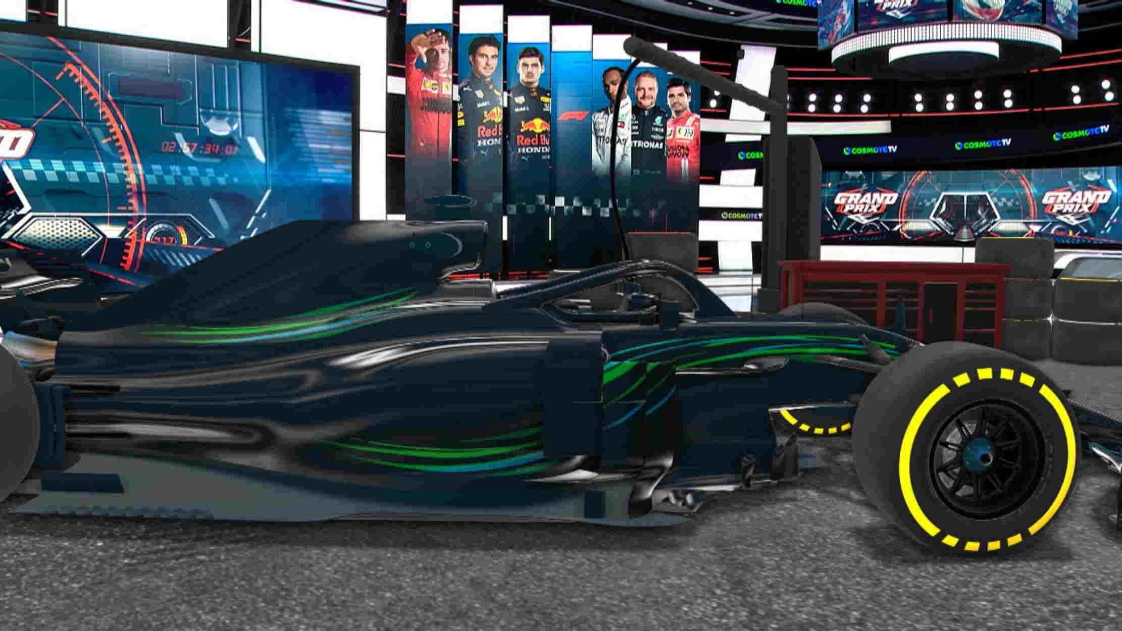 Η εκκίνηση της Formula 1 και του MotoGP στην COSMOTE TV